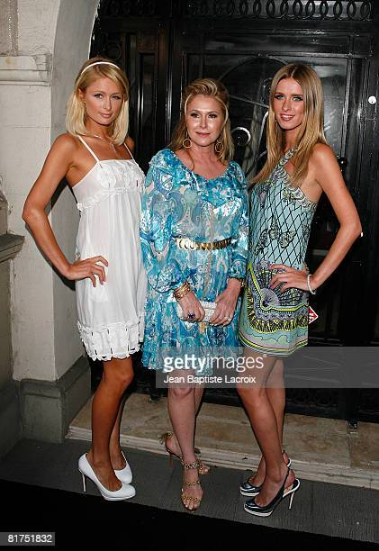 Paris Hilton Kathy Hilton and Nicky Hilton attends the opening of 'The Good Life' photographs by Murray Garrett and Slim Aarons at the Photographers...