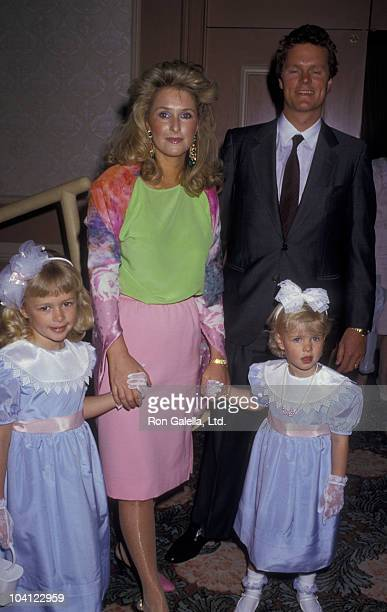Paris Hilton Kathy Hilton Ricky Hilton and Nicky Hilton attend MotherDaughter Fashion Show Benefit on March 26 1987 at the Beverly Hilton Hotel in...