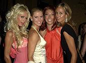 Paris Hilton Maeve Quinlan Tamara Beckwith and Lady Victoria Hervey