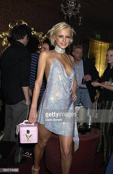 Paris Hilton New York Socialite Paris Hilton Celebrated Her New Movie And Her 21st Birthday With Dinner At Drones Then Party At The Stork Rooms In...