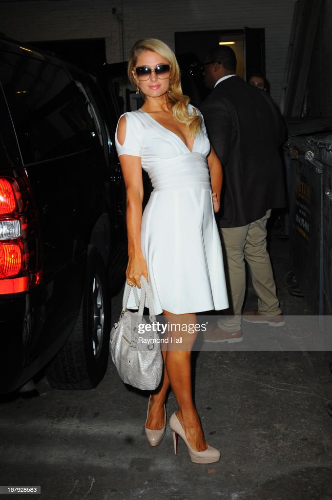 Paris Hilton seen outside the 'Wendy Williams Show' on May 2 2013 in New York City