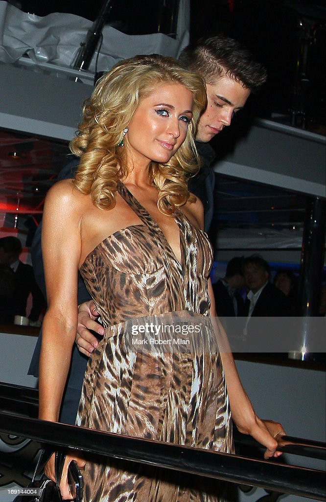 <a gi-track='captionPersonalityLinkClicked' href=/galleries/search?phrase=Paris+Hilton&family=editorial&specificpeople=171761 ng-click='$event.stopPropagation()'>Paris Hilton</a> sighting in the harbour at The 66th Annual Cannes Film Festival on May 20, 2013 in Cannes, France.