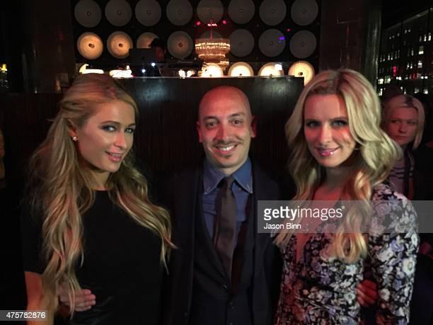 Paris Hilton Thomas Ricotta and Nicky Hilton circa April 2015 in New York City
