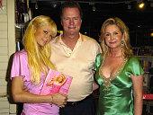 Paris Hilton with her parents Rick Hilton and Kathy Hilton