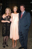 Paris Hilton with Kathy and Rick Hilton during Paris Hilton Fragrance New York Launch June 14 2006 at Le Cirque in New York City New York United...