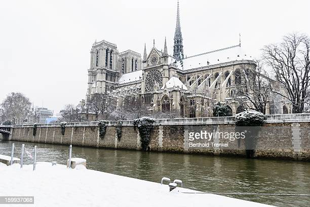 Paris in White - Notre Dame