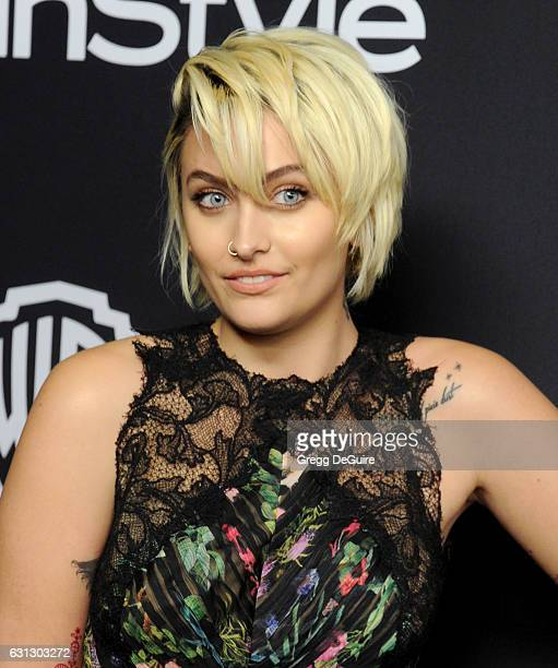 Paris Jackson arrives at the 18th Annual PostGolden Globes Party hosted by Warner Bros Pictures and InStyle at The Beverly Hilton Hotel on January 8...