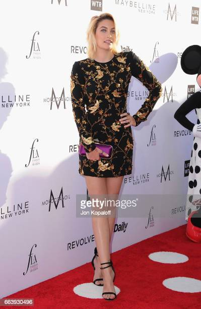 Paris Jackson arrives at the Daily Front Row's 3rd Annual Fashion Los Angeles Awards at the Sunset Tower Hotel on April 2 2017 in West Hollywood...