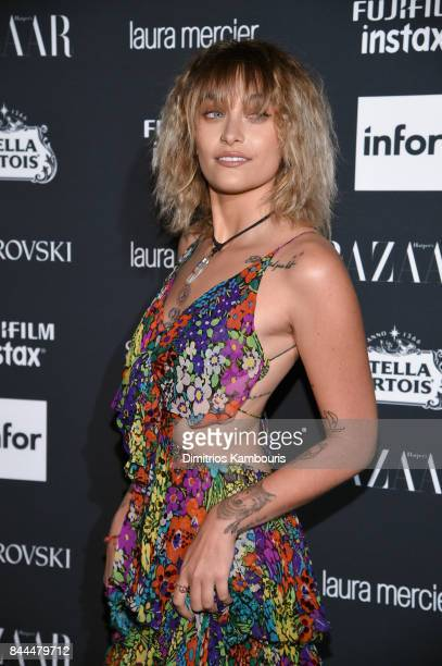 Paris Jackson attends Harper's BAZAAR Celebration of 'ICONS By Carine Roitfeld' at The Plaza Hotel presented by Infor Laura Mercier Stella Artois...