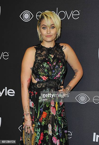 Paris Jackson attends the 18th PostGolden Globes Party hosted by Warner Bros Pictures and InStyle at the Beverly Hilton Hotel on January 8 2017 in...
