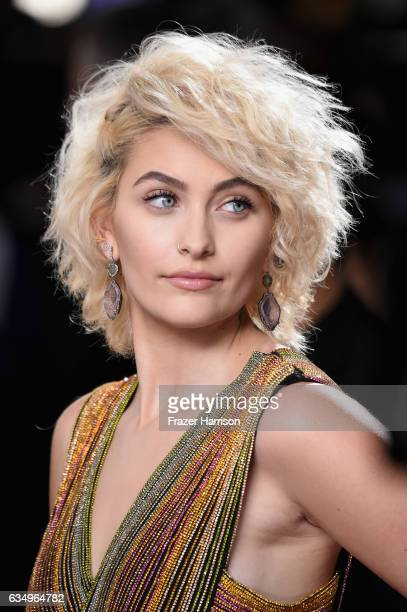 Paris Jackson attends The 59th GRAMMY Awards at STAPLES Center on February 12 2017 in Los Angeles California