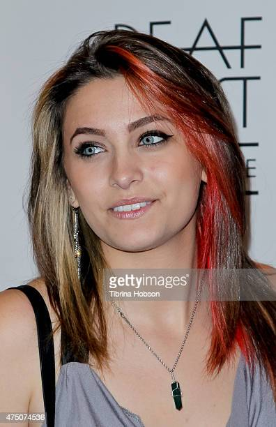 Paris Jackson attends the opening night of Deaf West Theatre's 'Spring Awakening' at Wallis Annenberg Center for the Performing Arts on May 28 2015...