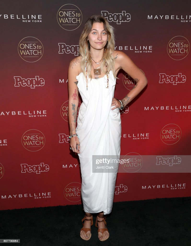 Paris Jackson attends the People's 'Ones To Watch' at NeueHouse Hollywood on October 4, 2017 in Los Angeles, California.
