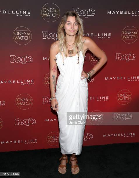 Paris Jackson attends the People's 'Ones To Watch' at NeueHouse Hollywood on October 4 2017 in Los Angeles California