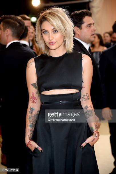 Paris Jackson attends the 'Rei Kawakubo/Comme des Garcons Art Of The InBetween' Costume Institute Gala at Metropolitan Museum of Art on May 1 2017 in...