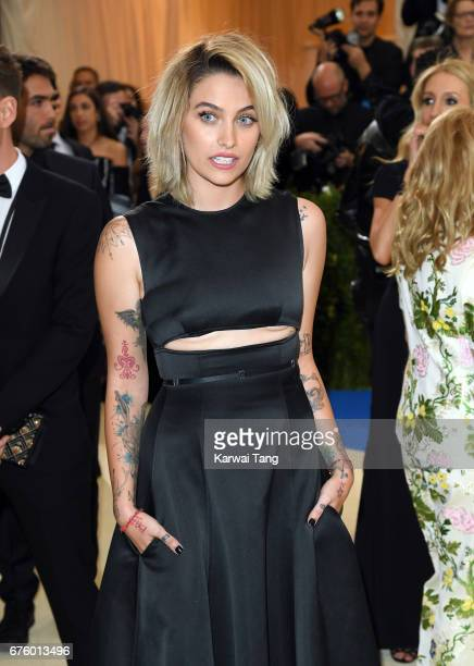Paris Jackson attends the 'Rei Kawakubo/Comme des Garcons Art Of The InBetween' Costume Institute Gala at the Metropolitan Museum of Art on May 1...