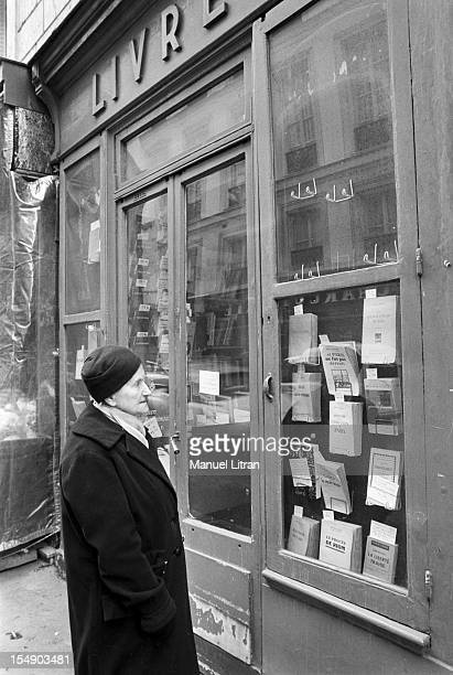 Paris January 18 Jeanne LUCET Marechal Petain's secretary for nearly 30 years before a bookstore