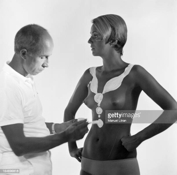 Paris July 31 Andre COURREGES defines her winter collection 'I wanted to follow the body as it is' True to his idea of ¿¿liberating the woman he has...