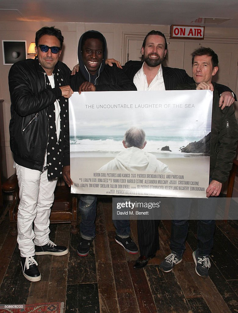 Screening of the uncountable laughter of the sea at soho house dean -  The Uncountable Laughter Of The Sea Special Screening Paris Kain James Samuel Patrick Brendan O Neill And Sean Dower Attend A
