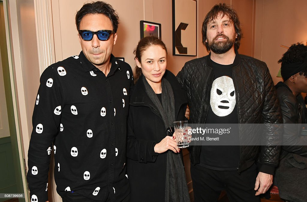 Paris Kain, <a gi-track='captionPersonalityLinkClicked' href=/galleries/search?phrase=Olga+Kurylenko&family=editorial&specificpeople=630281 ng-click='$event.stopPropagation()'>Olga Kurylenko</a> and Patrick Brendan O'Neill attend a special screening of 'The Uncountable Laughter of The Sea' at Soho House Dean Street on February 6, 2016 in London, England.