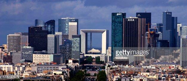 Paris La Défense panorama