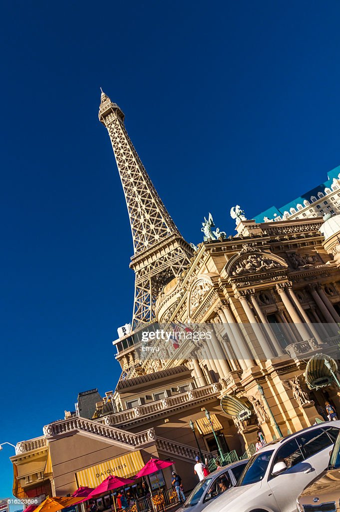 Paris Las Vegas hotel and casino : Stock Photo
