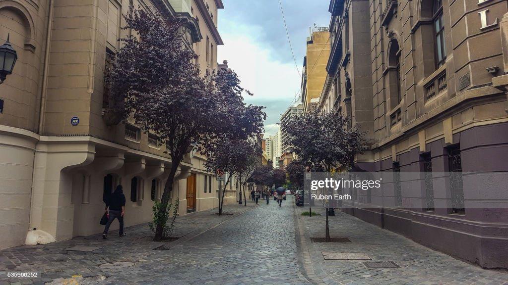 Paris Londres neighborhood street : Stock Photo