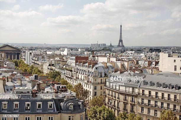 Paris-Madeleine et de la Tour Eiffel