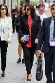 Celebrity Sightings in New York City - September 20,...