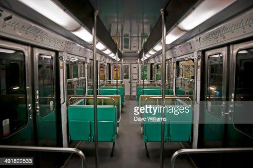 Paris Metro carriage