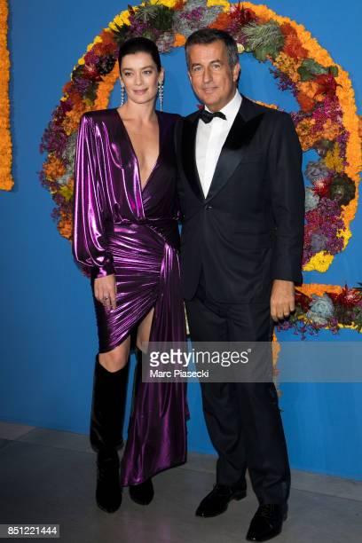 Paris National Opera dance director Aurelie Dupont and CoPresident of the Opening Gala Cyril Karaoglan attend the Opening Season Gala at Opera...