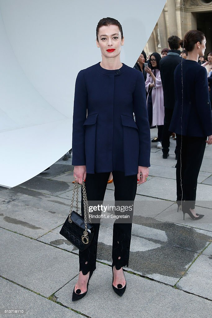 Paris National Opera dance director <a gi-track='captionPersonalityLinkClicked' href=/galleries/search?phrase=Aurelie+Dupont&family=editorial&specificpeople=2903830 ng-click='$event.stopPropagation()'>Aurelie Dupont</a> attends the Christian Dior show as part of the Paris Fashion Week Womenswear Fall/Winter 2016/2017 on March 4, 2016 in Paris, France.