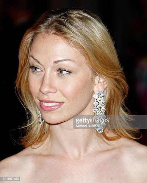 Paris Opera etoile Eleonora Abbagnato attends the Soiree Chopard photocall during the 2008 Cannes Film Festival on May 14 2008 in Cannes France