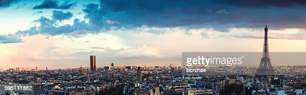 Paris Panorama From Arc De Triomphe