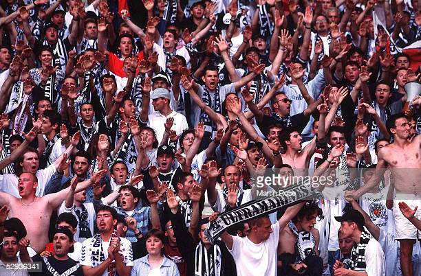 INTERNATIONAL 98/99 Paris PARIS SAINT GERMAIN GIRONDINS BORDEAUX 23 FAN/FANS BORDEAUX