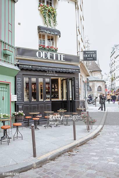 パリのペストリーショップ、オデットティールーム