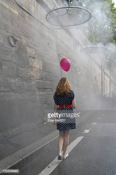 'Paris Plage' in Paris France in August 2010 Every year in July and August the City of Paris chases the cars away and dedicates the banks of the...
