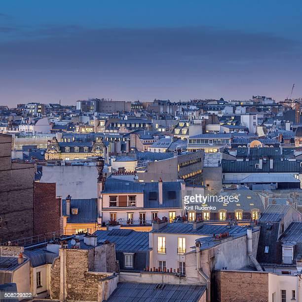 Paris rooftops, Montmatre
