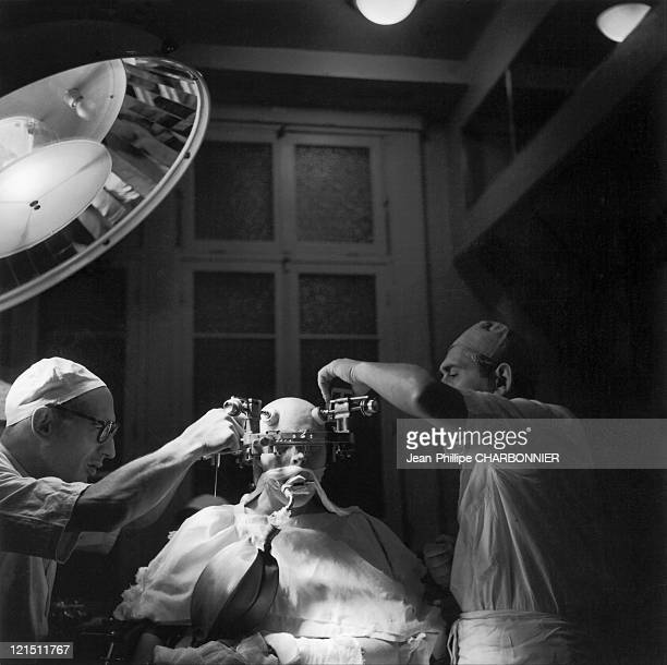 Paris SaintAnne Hospital Psychosurgery Thanks To The Stereoaxic Device With Which Deep Structures Of The Brain Can Be Spotted It Is Possible To...