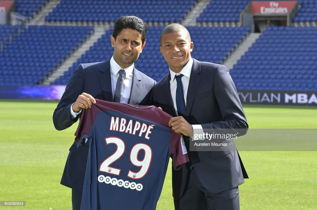 Paris Saint Germain Unveil New Signing Kylian Mbappe