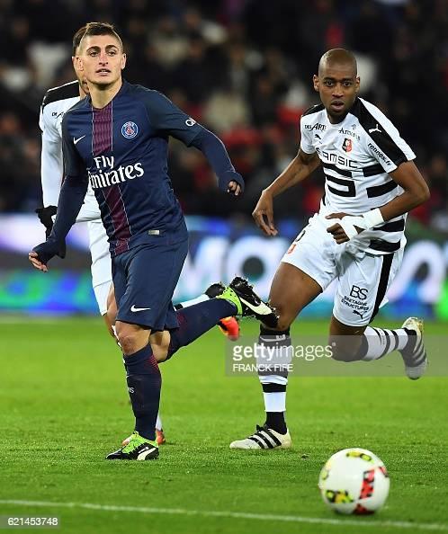 Paris Saint Germain V Angers Sco Ligue 1: Paris Saint-Germain V Stade Rennes