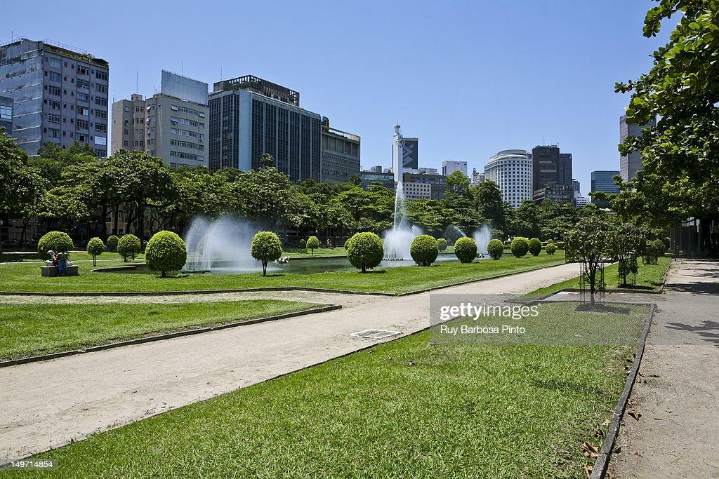 Paris Square and Center of Rio de Janeiro