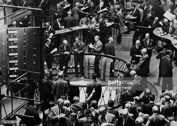 Paris Stock Exchange Session On July 23Rd 1965