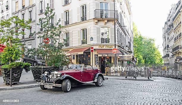 Rue du quartier Montmartre, à Paris