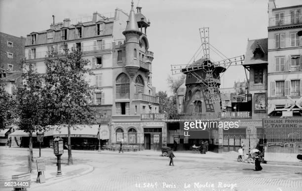 Paris The Moulin Rouge by E Lagrange