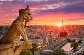 Paris, View of Notre dame de paris