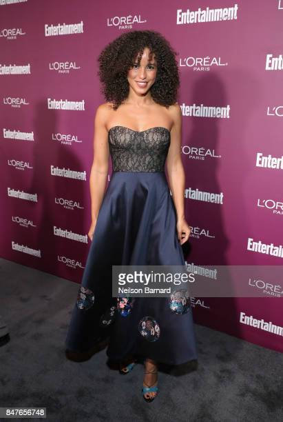 Parisa FitzHenley attends the 2017 Entertainment Weekly PreEmmy Party at Sunset Tower on September 15 2017 in West Hollywood California