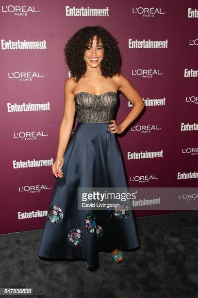 Parisa FitzHenley attends the Entertainment Weekly's 2017 PreEmmy Party at the Sunset Tower Hotel on September 15 2017 in West Hollywood California