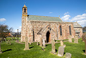 Parish Church of Saint Mary the Virgin Holy Island Lindisfarne Northumberland England