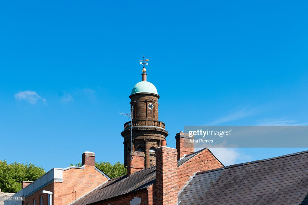 Parish Church of St. Mary the Virgin : Stock Photo
